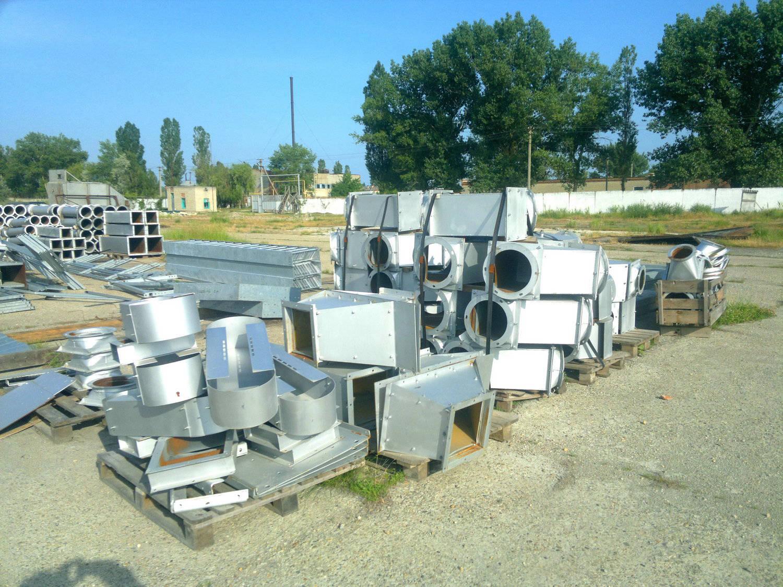 фото самопливного обладнання після виготовлення, готового до монтажу