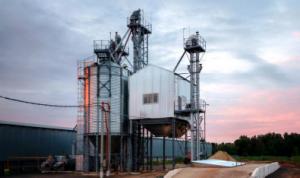 фото зерносушарка, зерносушильний комплекс, зерносушильний парк, сушка зернового матеріалу