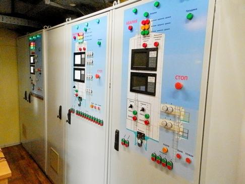 Зображення автоматизованих систем управління елеваторного обладнання